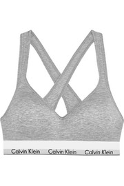Modern Cotton stretch cotton-blend soft-cup bra