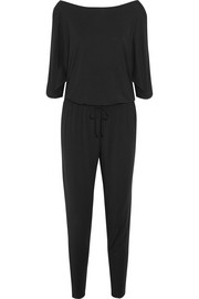 Escape Jumpsuit aus Jersey aus Stretch-Modal mit Cut-outs