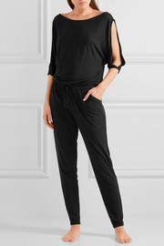 Calvin Klein Underwear Escape cutout stretch-modal jersey jumpsuit