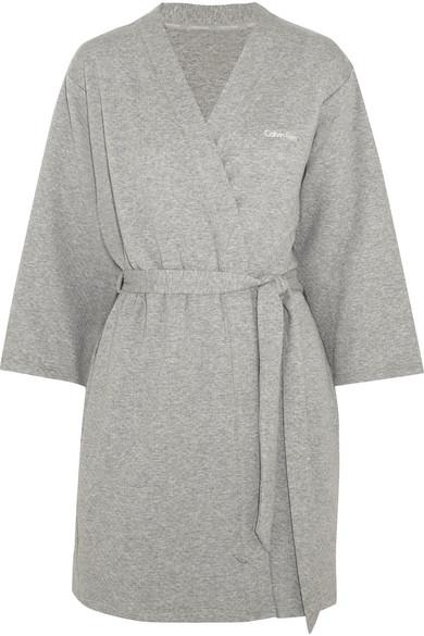 Calvin Klein Underwear | Harmony quilted cotton-blend robe | NET-A ... : quilted underwear - Adamdwight.com
