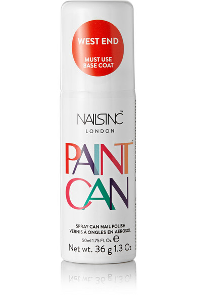 NAILS INC. Spray Can Nail Polish - West End, 50Ml in Tomato Red