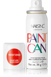 Nails inc Spray Can Nail Polish - West End, 50ml