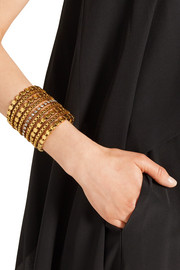 Erickson Beamon Awaken gold-plated Swarovski crystal cuff