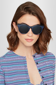 + Le Specs Luxe cat-eye acetate sunglasses
