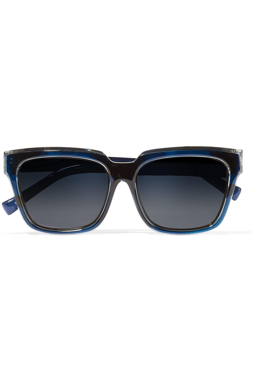 Self-Portrait + Le Specs Luxe square-frame acetate sunglasses