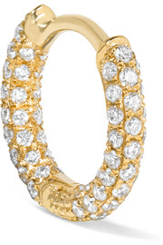 Maria Tash 18-karat gold diamond earring