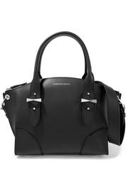 Alexander McQueen Legend small textured-leather shoulder bag
