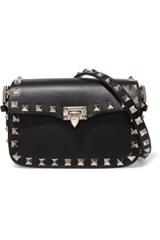 Valentino The Rockstud micro leather shoulder bag