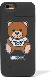 Moschino Silicone iPhone 6 charging case
