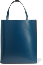Marni Museo two-tone leather tote