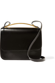 Marni Sculpture leather shoulder bag