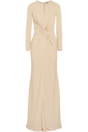 Alexander McQueen Knotted cady gown
