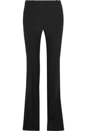 Crepe flared pants