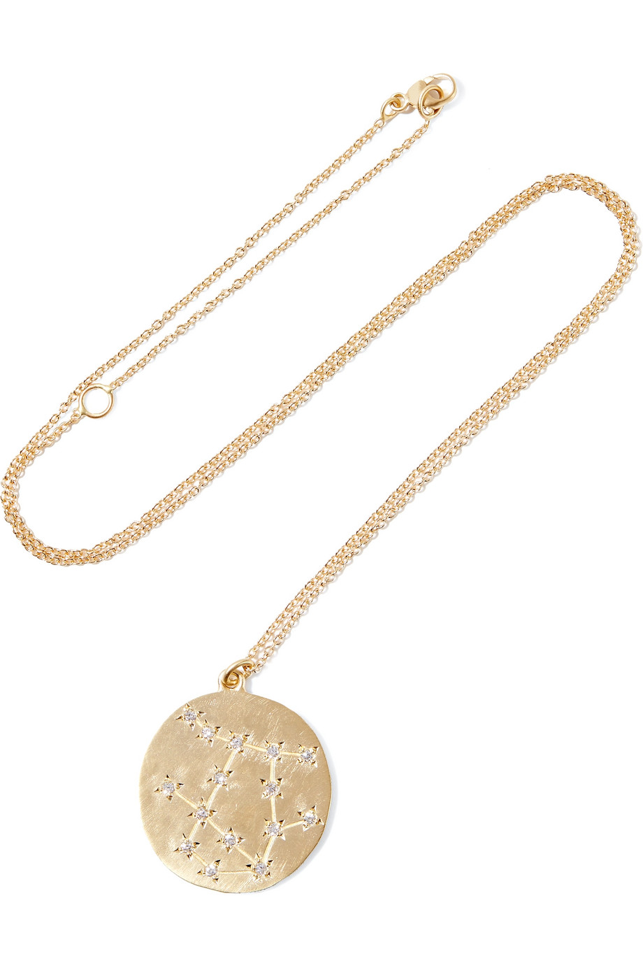 Brooke Gregson Gemini 14-Karat Gold Diamond Necklace, Women's