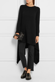 Alexander McQueen Asymmetric cashmere sweater dress