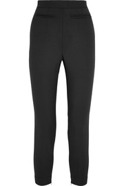 Alexander McQueen Stretch wool-blend leggings