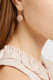 Carolina Bucci Mirador 18-karat rose gold earrings