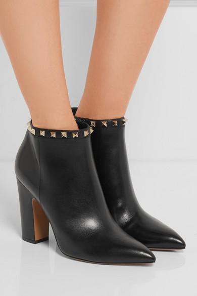 14da339620e3 The Rockstud leather ankle boots