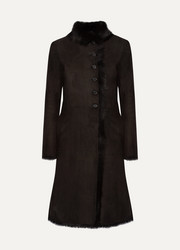 Joseph Luke shearling coat