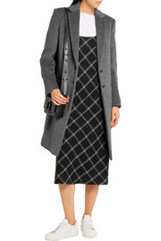 Mart wool and cashmere-blend coat