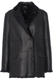 Joseph Ringo double-breasted shearling coat