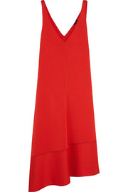 Joseph Bianca asymmetric crepe midi dress