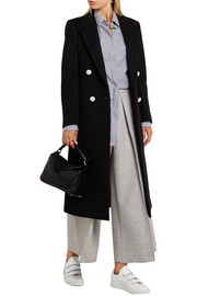 Blazz double-breasted wool-blend coat