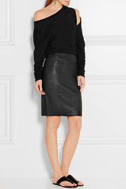 Joseph Clara stretch-leather pencil skirt