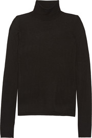 Merino wool turtleneck sweater