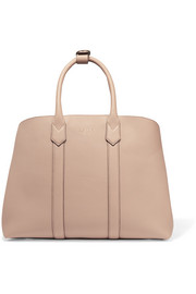 Hanbury textured-leather tote