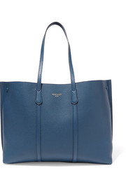 Laurie textured-leather tote