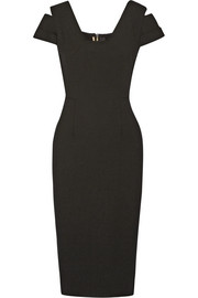 Roland Mouret Minetta cutout stretch-crepe dress