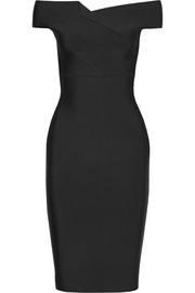 Roland Mouret Belvedere off-the-shoulder stretch-knit dress