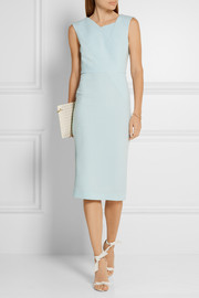 Chesson wool-crepe dress