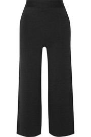 Redan cropped ponte straight-leg pants