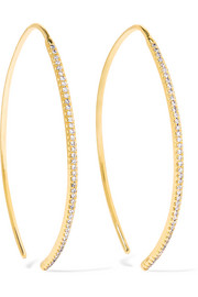 Ileana Makri Eye 18-karat gold diamond earrings