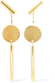 Josef Maria gold-tone earrings