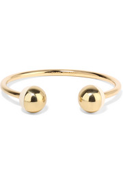 Isabel Marant Piece on Earth gold-plated resin cuff