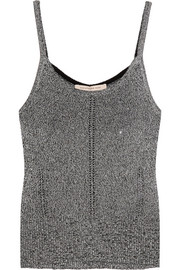 Christopher Kane Metallic knitted camisole