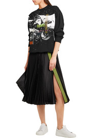 Christopher Kane Printed cotton-jersey sweatshirt