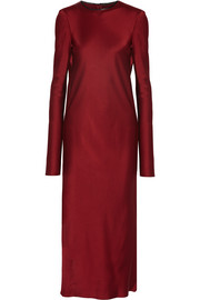 Haider Ackermann Glyzinie satin dress