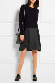 Carven Two-tone wool dress