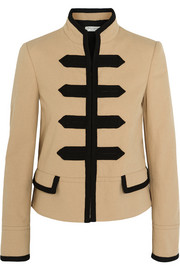 Philosophy di Lorenzo Serafini  Embroidered cotton-blend canvas jacket