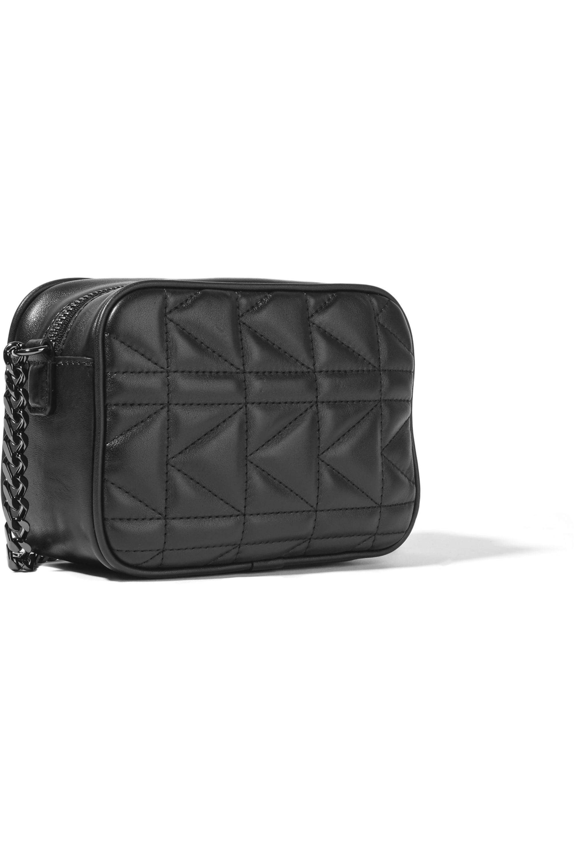 Karl Lagerfeld Kuilted small leather shoulder bag