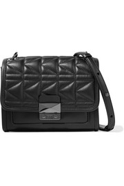 Karl Lagerfeld Kuilted mini leather shoulder bag