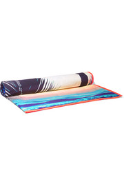 Makaha printed cotton-poplin beach blanket