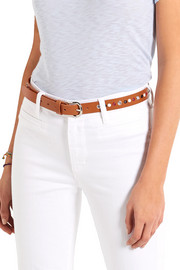 Zoe embellished leather belt