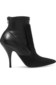 Givenchy Ankle boots in black suede and stretch-leather