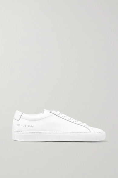 Common Projects Original Achilles Leather Sneakers In White