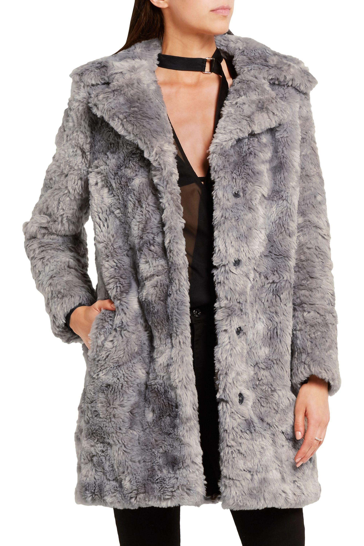 Karl Lagerfeld Faux fur coat